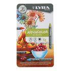 Пастель восковая акварельные LYRA AQUACOLOR 12 цветов 90/9.5 мм художественные L2011720
