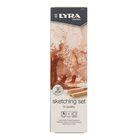 Карандаши художественные набор LYRA Sketching Set 6 шт. в металлической коробке L2041060
