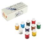 Краска акриловая, набор Matt, 10 цветов по 20 мл, WizzArt Set, матовые