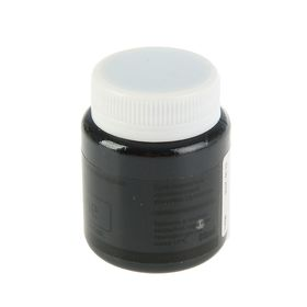 Краска акриловая Shine, 80 мл, WizzArt, чёрный глянцевый - фото 7443605