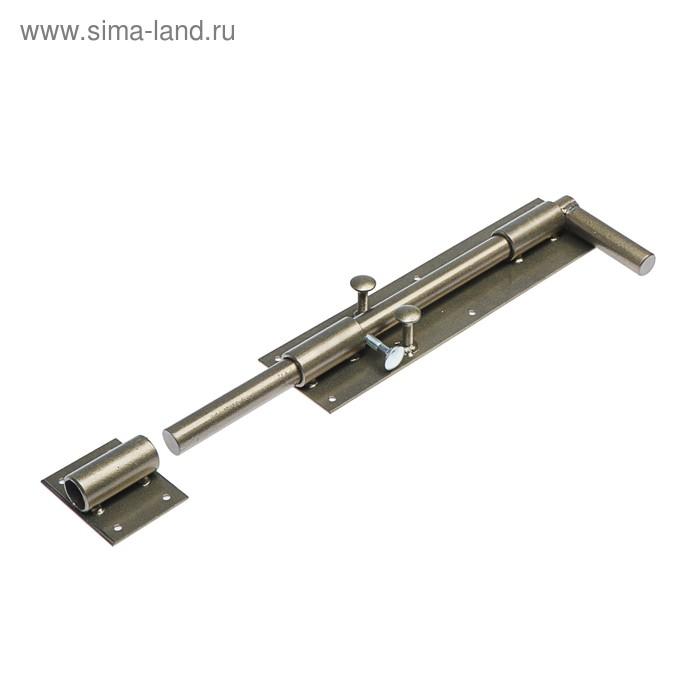 Засов гаражный 20х400, 40х13х3 см