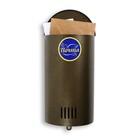 Ящик почтовый «Вертикаль», вертикальный, без замка (с петлёй), полукруглый, цвет бронзовый