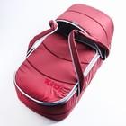 Люлька-переноска «Классик», цвет бордовый - фото 106550468