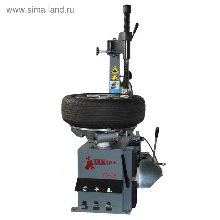 """Стенд шиномонтажный ARMADA M-34, полуавтомат, диск 10-22"""", d колеса до 1040 мм, 8 атм"""