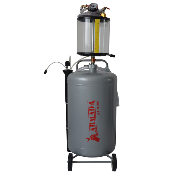 Установка замены масла ARMADA АА-3190, с предкамерой 10 л, 70 л, 4-6 бар, слив 0.8 бар