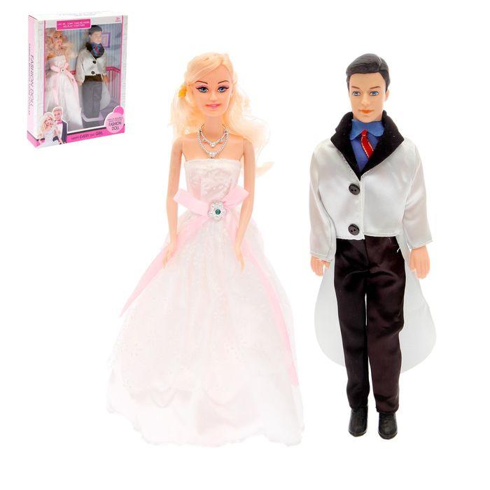 Кукла набор «Невеста с женихом», МИКС
