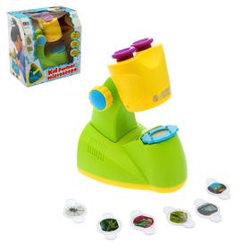 Игрушка обучающая «Микроскоп», 6 предметов цвета МИКС