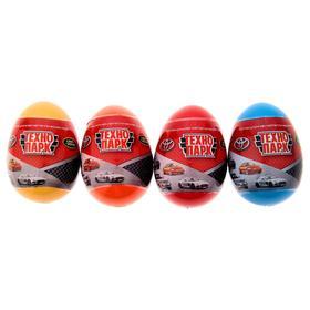 Машина металлическая в яйце «Иномарка» 7,5 см, МИКС