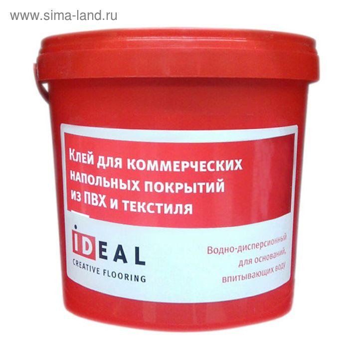 Клей для коммерческого напольного покрытия из пвх и текстиля Ideal 7кг, 5л