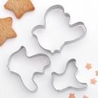 """Набор форм для вырезания печенья """"Голубь"""", 3 шт"""