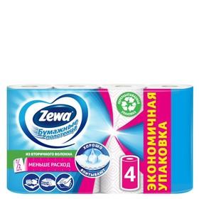 Бумажные полотенца Zewa, 2 слоя, 4 шт.