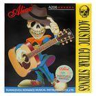 Комплект струн для акустической гитары Alice A206-SL Super Light