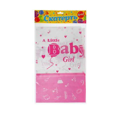 Скатерть Little Baby Girl, 180 × 108 см
