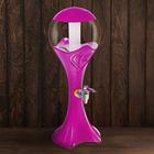 """Башня пивная 3 л """"Шар"""", цвет розовый"""