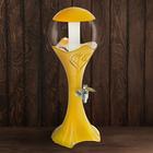 """Башня пивная 3 л """"Шар"""", цвет желтый"""