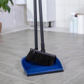 """Набор для уборки """"Фьюджи"""" 2 предмета: совок, щетка для пола, складная, цвет МИКС"""