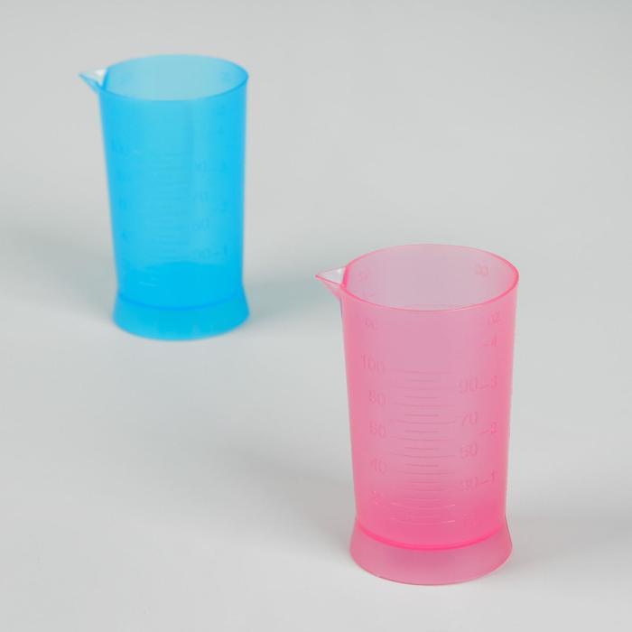 Мерный стакан, 100 мл, цвет МИКС