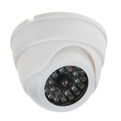 Муляж видеокамеры LuazON, мод. VM-4, с индикатором, 2АА (не в компл.), белый