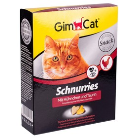 """Лакомство для кошек Gimpet """"Сердечки"""" с курицей, 650 шт, 420 г"""