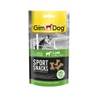 """Лакомство для собак Gimdog """"Спортснекс"""" ягненок и L-карнитин, 60 г (500126)"""