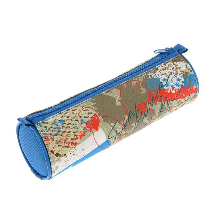 Пенал мягкий «Art Россия», тубус, 70 х 210 мм, ткань,, ПМ5-20