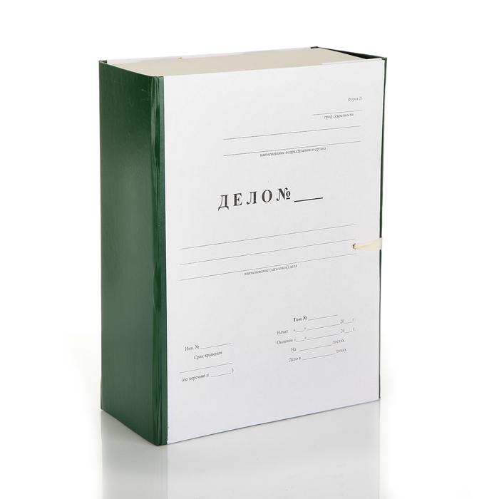 короб архивный А4 100мм бумвинил