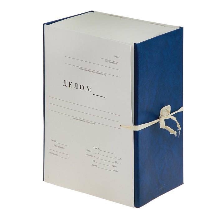 короб архивный А4 150мм Дело, бумвинил
