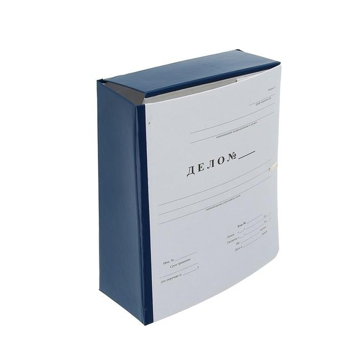 папка архивная А4 80мм Дело, бумвинил