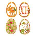Набор подвесок «Пасхальные яйца», 4 шт