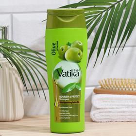 Шампунь для волос Dabur VATIKA Naturals Nourish & Protect питание и защита, 400 мл