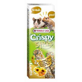 Палочки VERSELE-LAGA Crispy  для песчанок и мышей, с подсолнечником и медом, 2х55 г