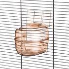 Купалка для птиц закрытая 11.5 х 17 см