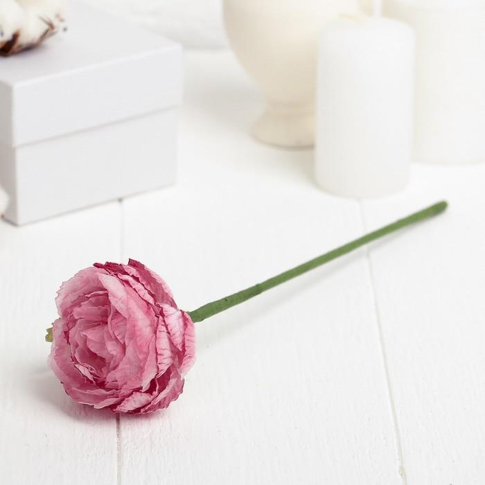 "Декоративный цветок ""Розовый пион"""