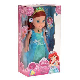 Кукла музыкальная «Ариэль» на батарейках, озвученная, светится амулет