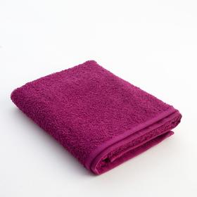 """Terry towel """"and Save I"""" 50*90cm fuchsia, 100% cotton, 340 g/m2"""