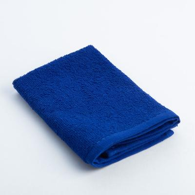 """Terry towel """"and I Save"""" 30x30 cm blue, 100% cotton, 340 g/m2"""