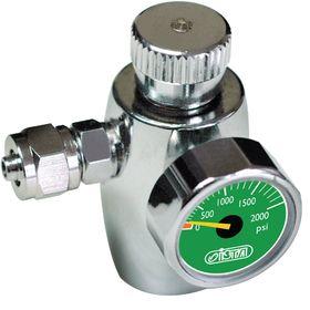 Регулятор СО2 с манометром, предохранительным клапаном для одноразовых картриджей