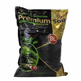 Субстрат для аквариумных растений и креветок премиум класса 8л, гранулы 1,5-3,5мм