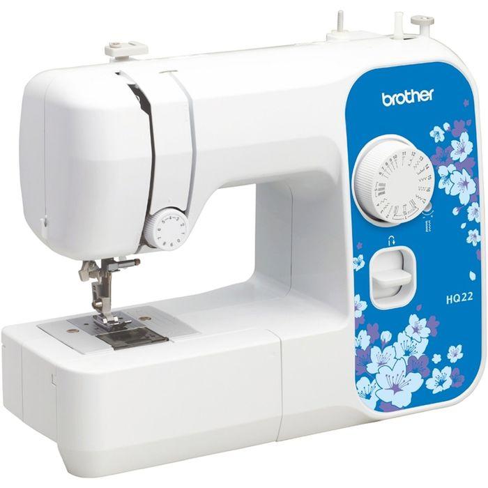 Швейная машина Brother HQ-22, 17 операций, обметочная, потайная, эластичная строчка