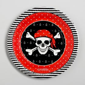 Paper plate Pirate, 18 cm