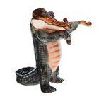"""Сувенир """"Крокодил со скрипкой"""""""