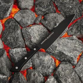 Нож кухонный Samura SHADOW, универсальный, лезвие 15 см, с покрытием BLACK FUSO
