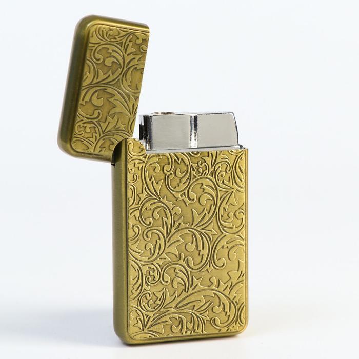 Зажигалка «Орнамент», в коробке, 3х6 см
