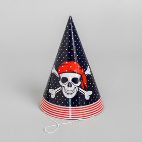 "The cap paper ""a Real pirate!"", set of 6 PCs"