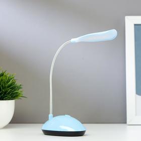 """Лампа настольная LED 4 диода """"Световой луч"""" от батареек 20х5х8,5 см Микс"""
