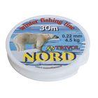 Леска Nord-1, 30 м, d=0,22 мм