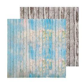 Фотофон двусторонний «Доски окрашенные», 45 × 45 см, переплётный картон, 980 г/м