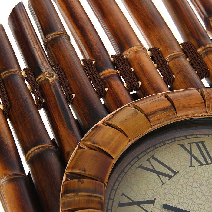 это поделки из бамбука часы фото постепенно становится