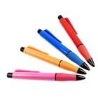 Ручка шариковая-прикол автоматическая с резиновым держателем МИКС