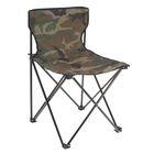 Кресло туристическое, складное, 45х45х70 см, цвет: зелёный, до 80 кг, в пакете